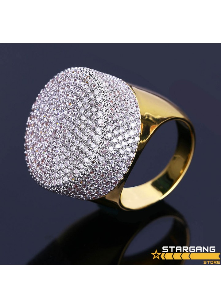 Diamond Stamp Ring