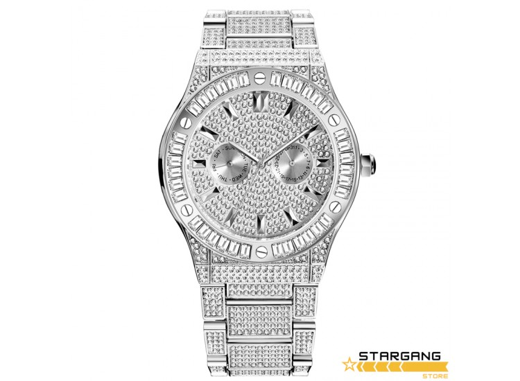 Baguette Diamond Aude Case Watch
