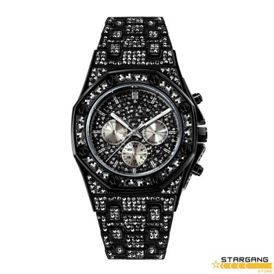 Flashy Bling Aude Case Watch