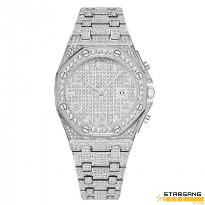 Luxury Diamonds Aude Case Watch