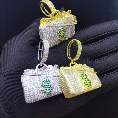 Iced Out Money Bag