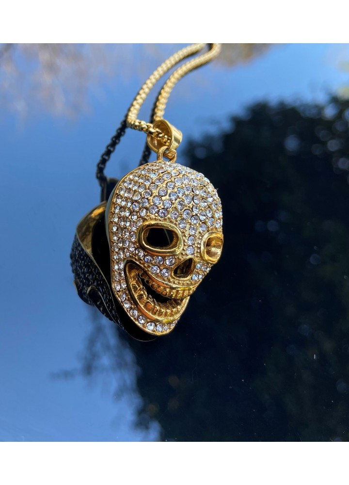 Iced Out Skull