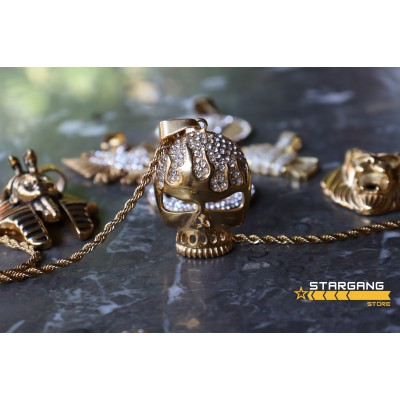 Iced Out Skull 2